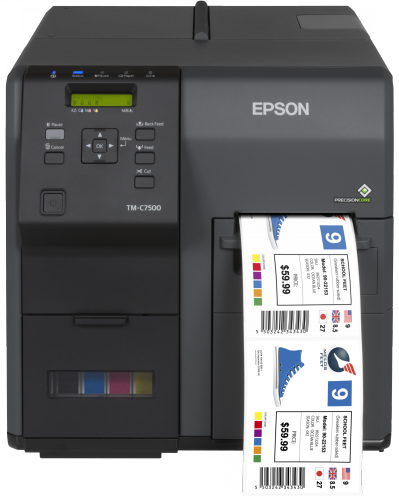 Epson launches industrial in-house label printer
