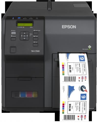 A Epson lança uma impressora de etiquetas a cores industrial