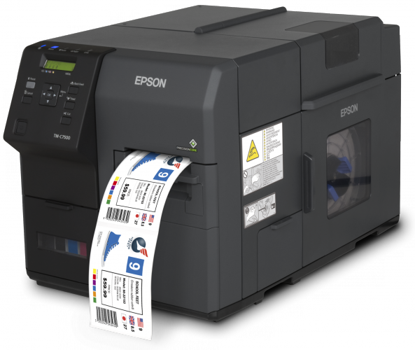 Epson shows flexibility of desktop & portable colour label printers at Packaging Innovations