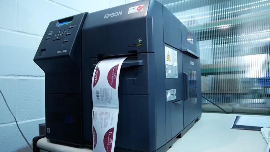 Impresión rápida y versátil con ColorWorks en Fitonat