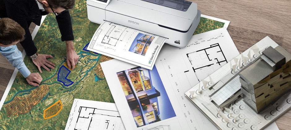 Epson apresenta impressora de grande formato mais compacta e económica