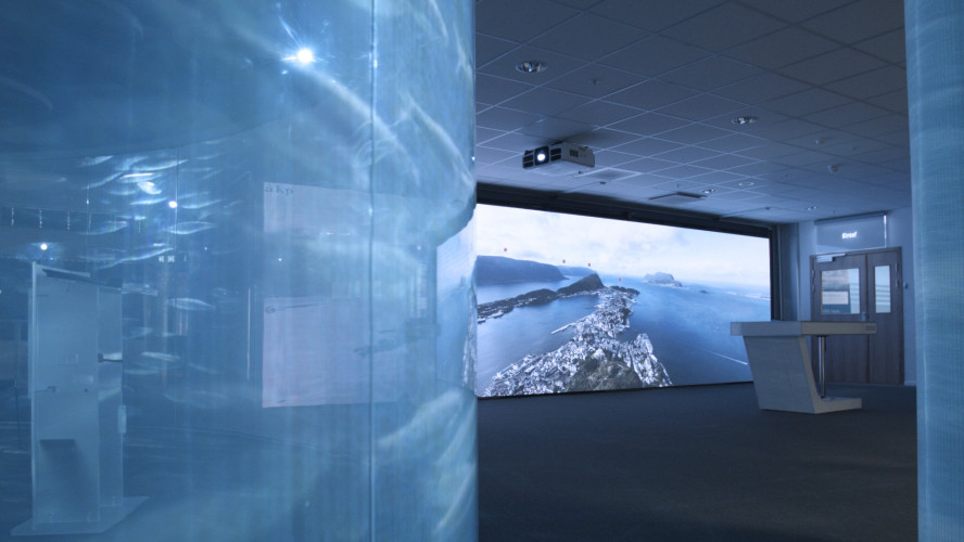 Epson projectors help shape the maritime industry at Campus Ålesund