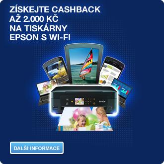 Společnost Epson odstartovala novou kampaň – zákazníkům vrátí až 2 000 korun!