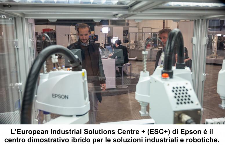 Epson apre un nuovo Industrial Solutions Centre virtuale per clienti e partner europei
