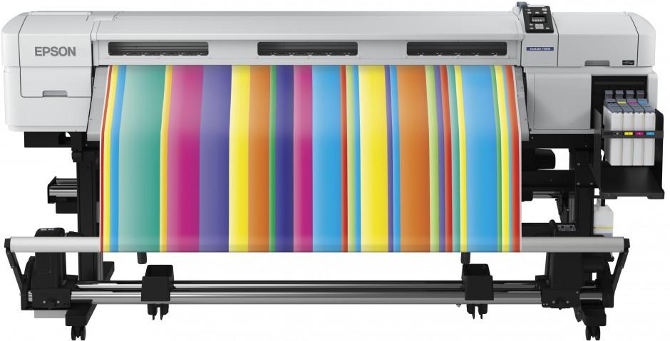 Epson lanserar SureColor SC-F-serien med färgsublimeringsskrivare