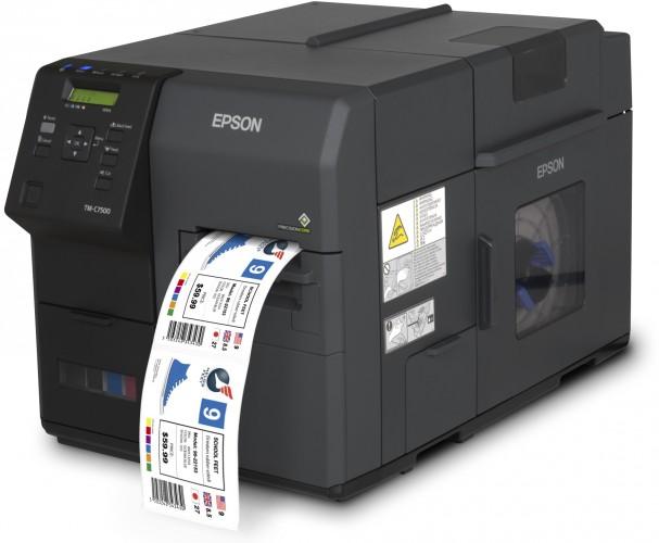 Neuer Epson Drucker für die Produktion von Etiketten