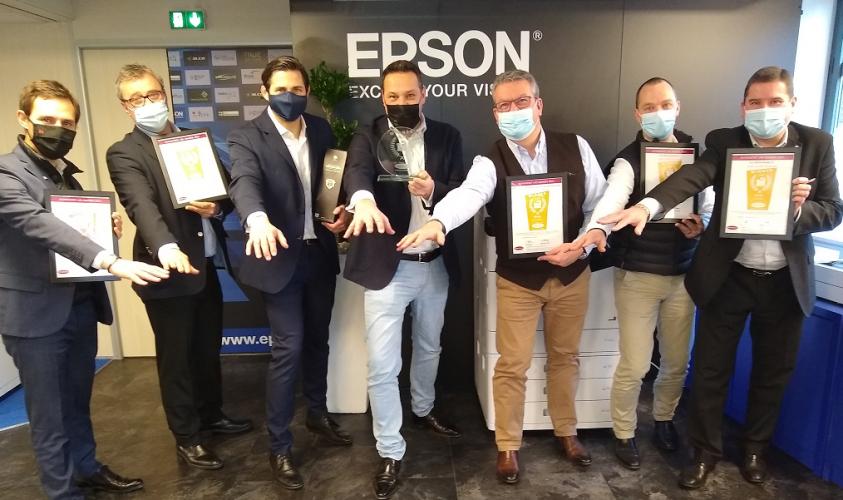 Epson récompensé lors de la remise des prix des DataMaster Lab 2021 Print Awards