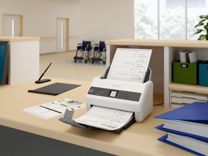 Neue Epson-Scannerserie senken Kosten und erhöhen Sicherheit im Gesundheitswesen.