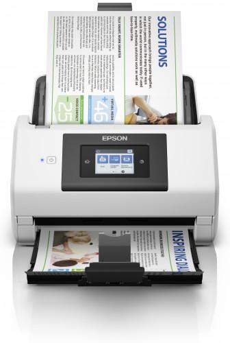 El escáner profesional más inteligente de Epson facilita el escaneado en red rápido y de gran volumen