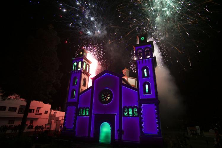 Gran Canaria vive un espectacular mapping navideño con Epson