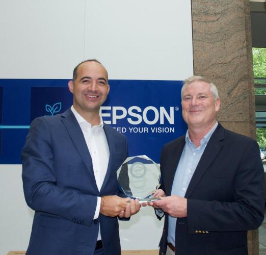 Epson celebra el Premio Keypoint Intelligence PaceSetter a la sostenibilidad