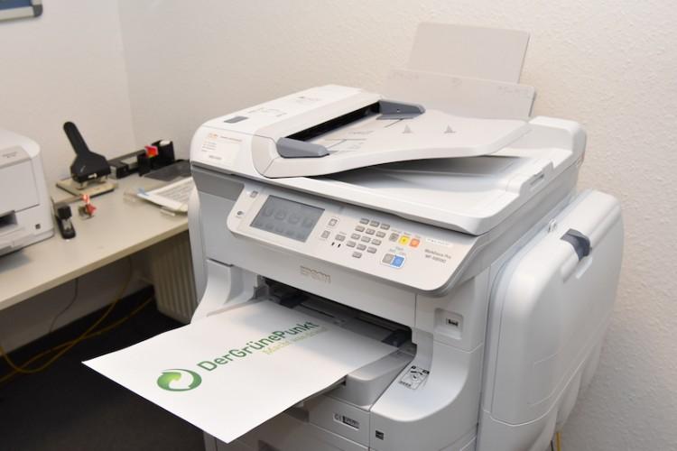 """""""Der Grüne Punkt"""" lebt Nachhaltigkeit und setzt auf Inkjet-Drucker von Epson"""