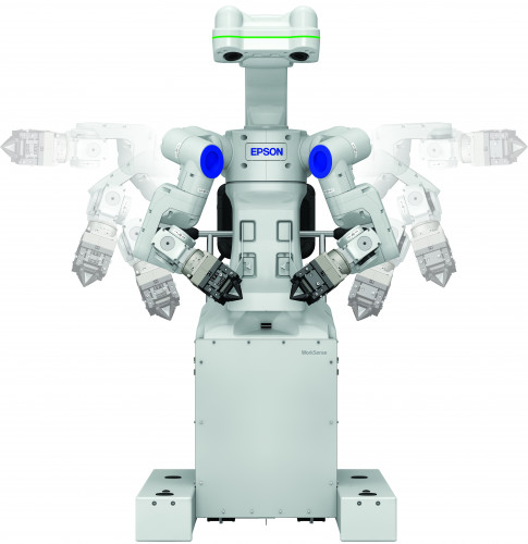 "Intelligent ""seeing, sensing, thinking, working"" dual-arm WorkSense robot comes to Europe"