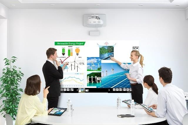 Epson innoveert met introductie van nieuwe projectoren voor bedrijven