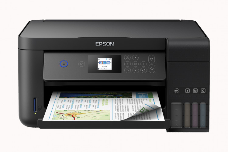 Epson EcoTanks drucken alle CO2-neutral