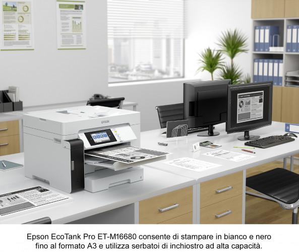 Epson presenta le prime stampanti EcoTank per l'ufficio  in formato A3