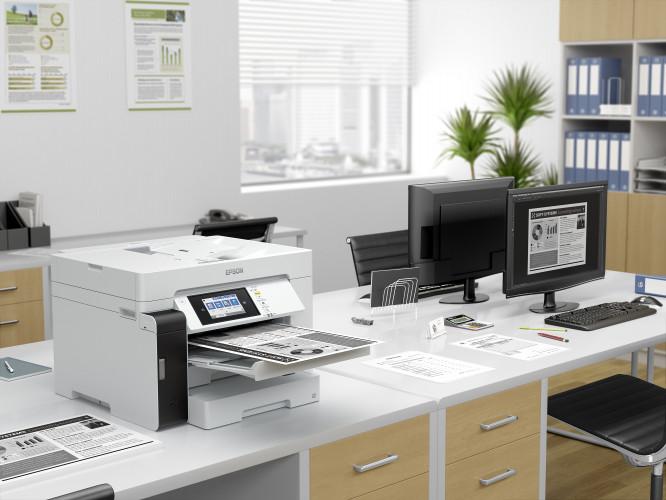 Spoločnosť Epson uvádza na trh prvé firemné tlačiarne EcoTank pre tlač formátu A3. Tlačiarne predstavujú cenovo výhodné a udržateľné riešenia pre tlač kancelárskych dokumentov vo väčšom formáte