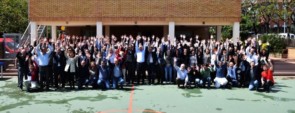 Epson realiza una acción de RSC con el Centro Llar Les Vinyes de Cerdanyola del Vallès