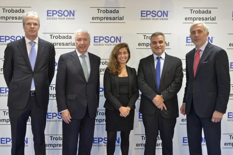 Más de 50 directivos se dan cita en la sede de Epson para debatir sobre la gestión de la innovación y el talento