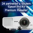 24 partnerów z tytułem  'Epson Pro AV Premium Reseller'