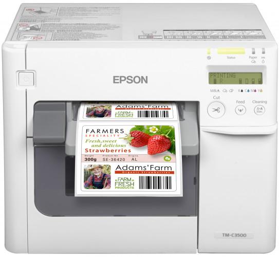 Epson ColorWorks C3500 erhält EU ISEGA-Zertifikat für Lebensmittelkennzeichnung