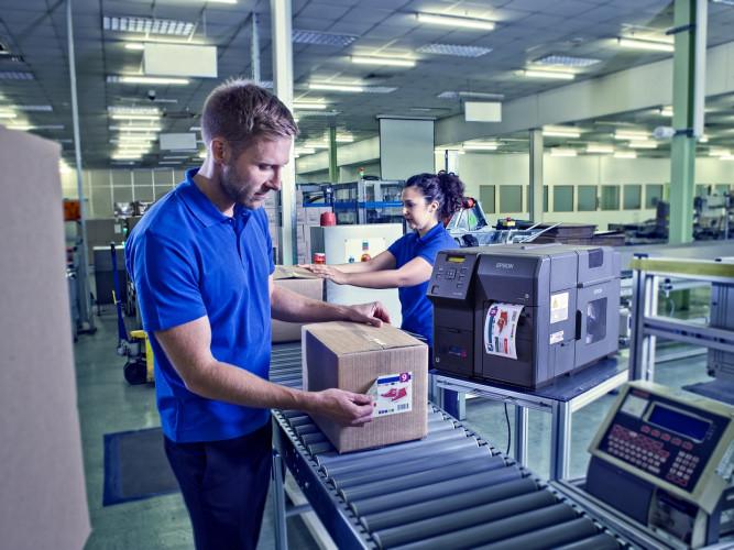 Epson leva tecnologia inovadora de etiquetagem à Empack 2018