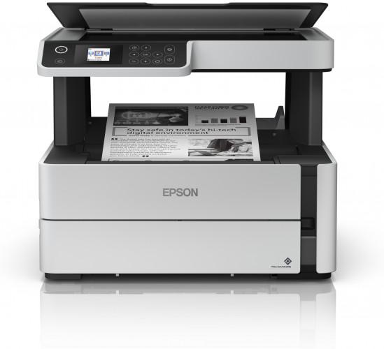 Drei monochrome Epson EcoTank-Systeme für Unternehmen