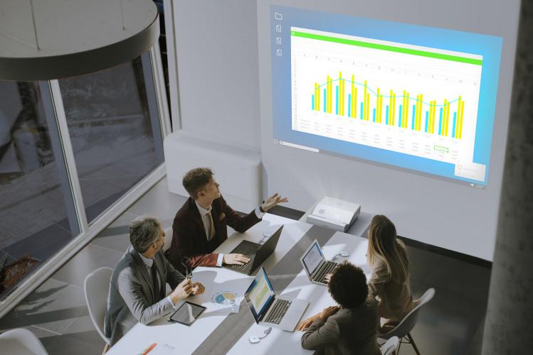 Neue kabellose Epson Präsentationssysteme