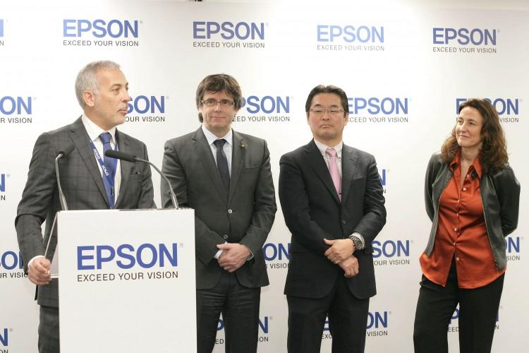 Epson Ibérica inaugura su nueva sede en Sant Cugat del Vallès con la asistencia de más de 200 personalidades del ámbito empresarial e institucional