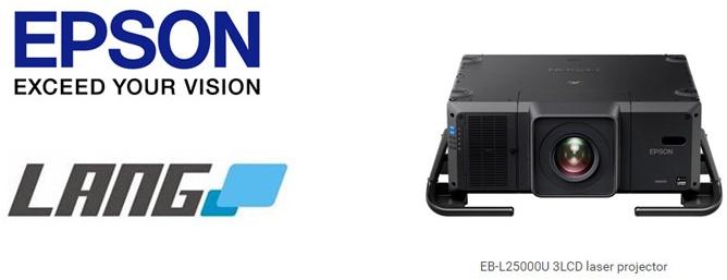 Lang AG lägger order på Epsons ljusstarkaste laserinstallationsprojektor