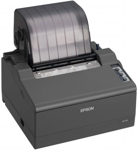 Ultra-compacte dot matrix printer die een plaatsje vindt waar andere niet passen