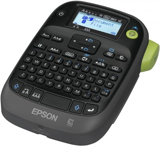 Neuer, kompakter Epson Labeldrucker