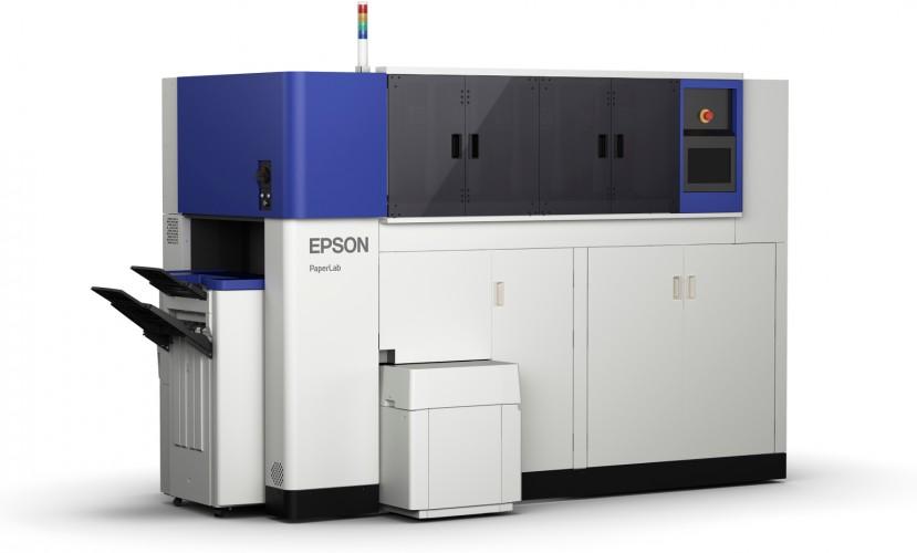 EPSON מכריזה על המערכת המשרדית הראשונה בעולם שהופכת נייר המיועד למיחזור - לנייר חדש