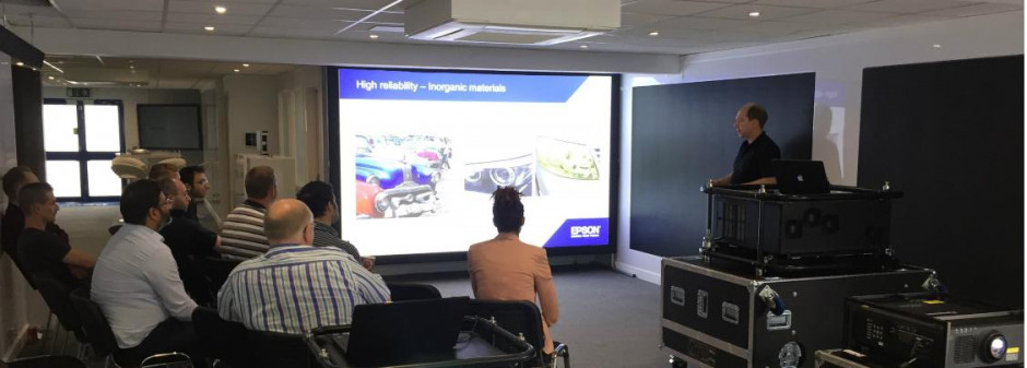 PSCo hosts first ever UK-based Epson Pro AV Academy