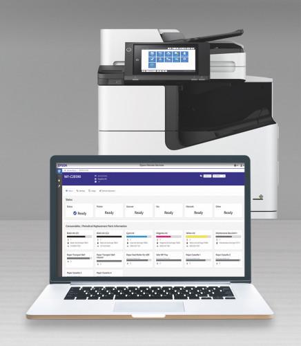 Epson annuncia Epson Remote Services, il software di diagnostica per l'assistenza remota delle stampanti