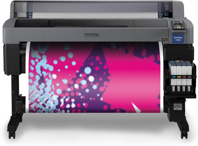 Neuer wartungsarmer Thermosublimationsdrucker Epson SureColor SC-F6300