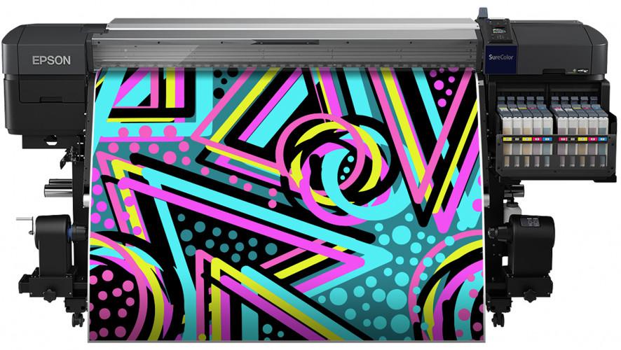 Erste Epson Thermosublimationsdrucker mit fluoreszierender Tinte
