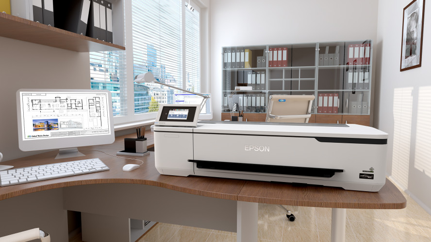 Epson launches its smallest most affordable large format plotter