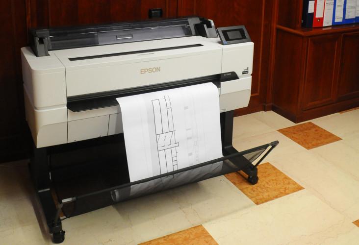 Con Epson, l'impresa Verazzo stampa progetti CAD accurati e precisi