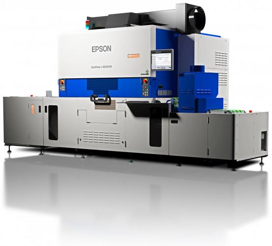 Neue Epson SurePress L-6534VW für hohe Druckgeschwindigkeit, Top-Qualität bei einfacher Bedienung