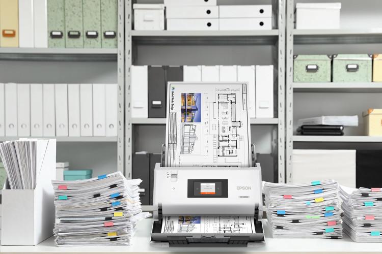 Erste Epson DIN A3 Einzugsscanner