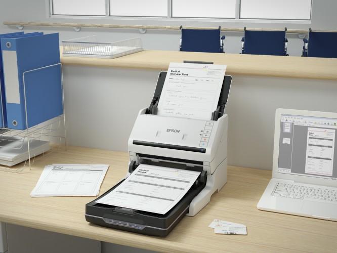 Neue Epson Einzugsscanner für den Büroeinsatz