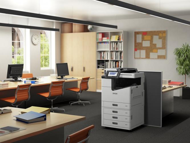 Nagy sebességű fekete-fehér multifunkciós nyomtató, amely megfelel a megbízhatósági és nagy mennyiségű nyomtatási igényeknek