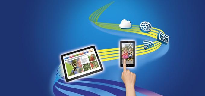 Säker utskrift av företagspost från datorer och mobila enheter