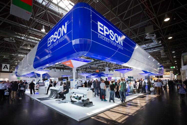 Epson aumenta su producción de unidades de gran formato tras el éxito de pedidos en drupa 2016
