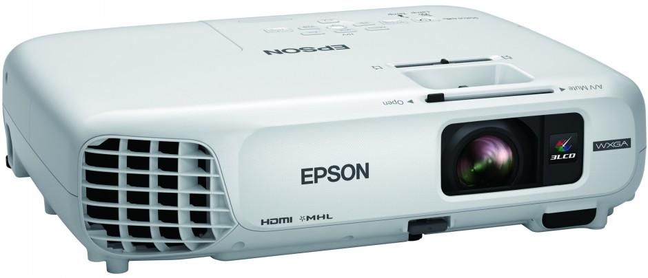 Neuheit: Epson Projektor kabellos durch projizierten QR-Code verbinden