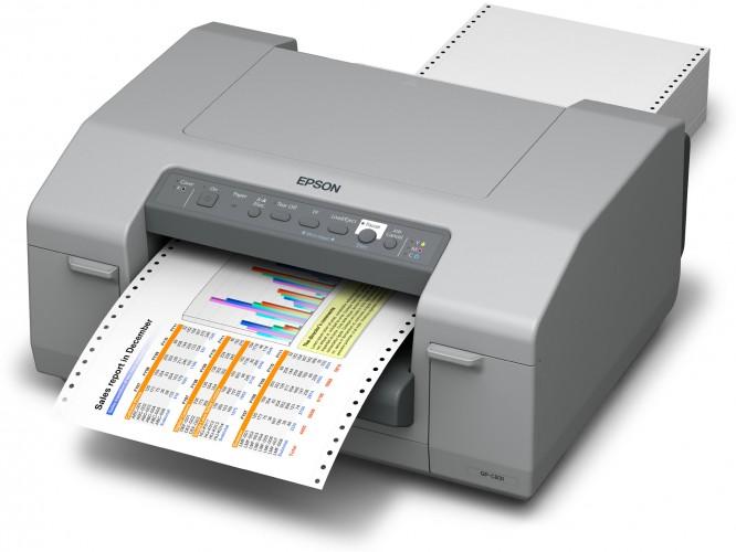 Epson GP-Druckerreihe kombiniert Matrixdrucker mit Tinte
