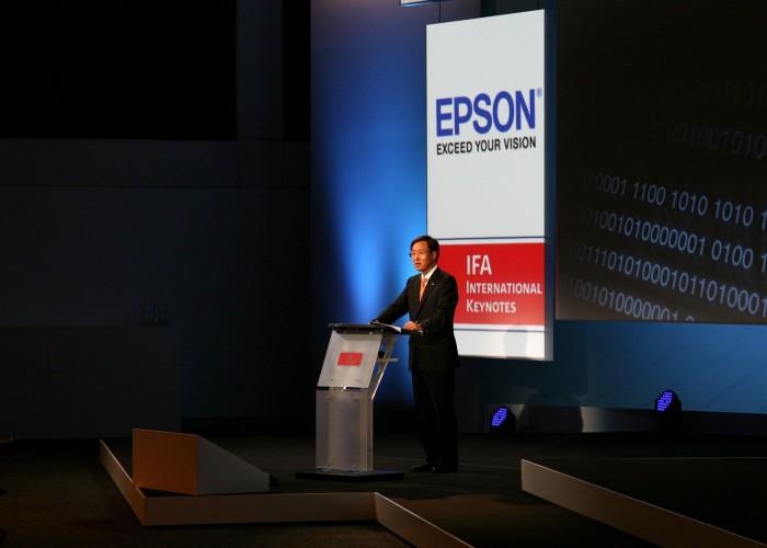 IFA: Krize přináší technologické inovace, říká prezident společnosti Epson