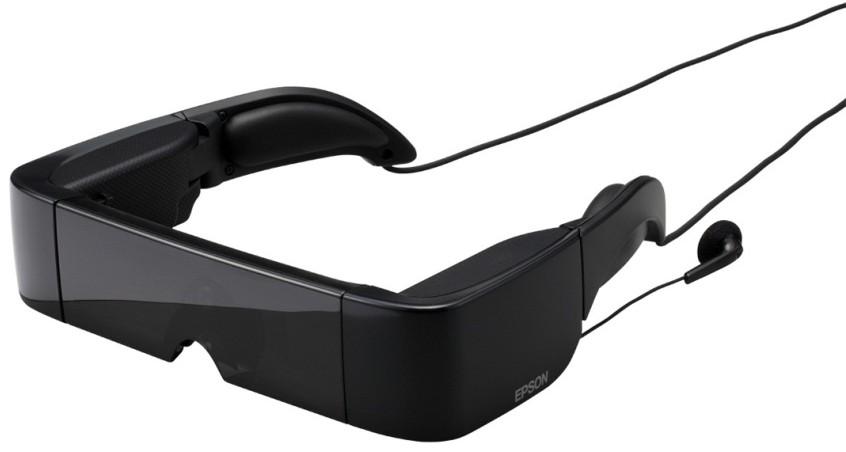 EPSON MOVERIO BT-100 : La première génération de lunettes translucides qui vous accompagnent lors de vos déplacements...