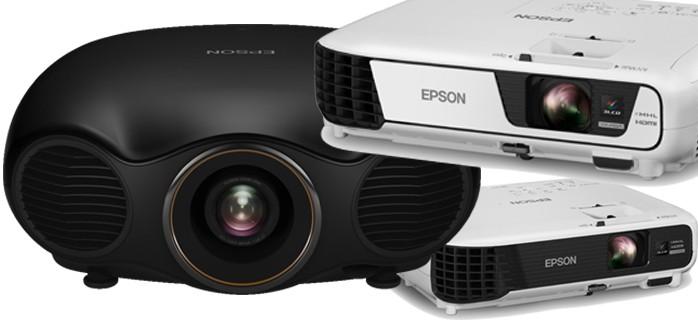 Epson obține o cotă de 41% din piața videoproiectoarelor în T2